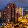 Puerto de la Cruz at Night - Stock Photo