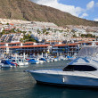 Puerto de Santiago Harbor, Tenerife - Stock Photo