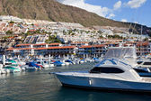 Hafen von puerto de santiago, teneriffa — Stockfoto