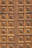 Antika ahşap kapı — Stok fotoğraf