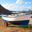 Old Rowboat in Garachico, Tenerife — Stock Photo #17086743