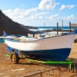 Old Rowboat in Garachico, Tenerife — Stock Photo