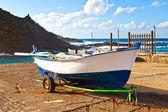 Old Rowboat in Garachico, Tenerife — Stock Photo