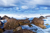 Rocky Coastline in Taganana Coast, Tenerife — Stock Photo