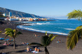 Playa Jardin in Puerto de la Cruz, Tenerife — Stock Photo