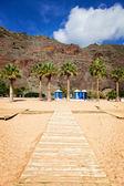 Las Teresitas Beach, Tenerife — Stock Photo