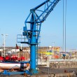 Small Crane in Puerto de la Cruz Jetty — Stock Photo #18182725