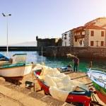 Fishing Port in Puerto de la Cruz, Tenerife — Stock Photo #18182779