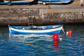 Traditional Fishing Rowboat in Tenerife — Stock Photo