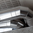 Heating Ducts — Stock Photo
