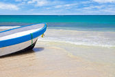 Rowboat in a Tropical Sea — Stock Photo
