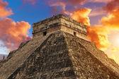 Kukulkan Pyramid, Chichen Itza — Stock Photo