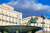Monument to King Charles III, Madrid — Stock Photo