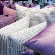 Detail of Pink Cushions — Stock Photo