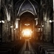 Stock Photo: Sinister Gothic Cathedral