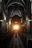 Sinister Gothic Cathedral — Stock Photo
