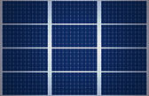 Solar Panel Background — Stock Photo