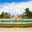 Ceres Fountain at Parterre Garden in Aranjuez — Foto de Stock