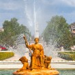 Ceres Fountain at Parterre Garden in Aranjuez - Stockfoto