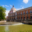 Royal Palace of Aranjuez, Madrid — 图库照片