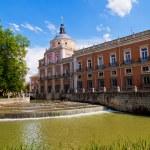 Royal Palace of Aranjuez, Madrid — Stock Photo