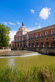 Royal Palace of Aranjuez, Madrid — Stock Photo
