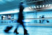 Přesun na letišti — Stock fotografie
