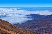 Sea of Clouds from Teide Peak, Tenerife — Stock Photo