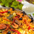 Prepared Paella — Stock Photo