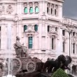 Cibeles Square, Madrid, Spain — Stock Video