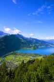 Aerial view of Interlaken, Switzerland — Stock Photo