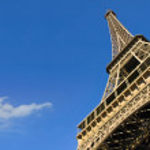 Eiffel Tower from below — Stock Photo #3068818