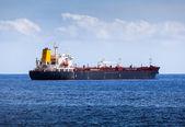 Big Chemical Tanker in the Atlantic Ocean — Stock Photo