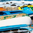Stock Photo: Old Rowboats in TagananCoast