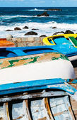 Old Rowboats in Taganana Coast — Stock Photo