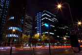 Buildings in Madrid Financial Area — Stock Photo