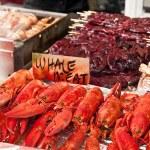 Seafood on sale — Stock Photo #3141995