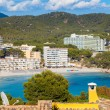 Scenic View of Paguera Beach in Majorca — Stock Photo
