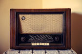 Old Rare Radio — Stock Photo