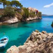 Stock Photo: CalFornells View in Paguera, Majorca