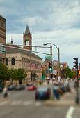 Boston Streets — Stock Photo