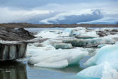 Jokulsarlon Lake, Iceland — Stock Photo