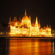 The Budapest Parliament of the night — Stock Photo
