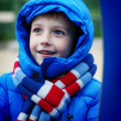Portrait of a little boy — Stock Photo