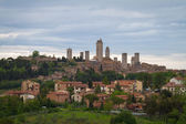 Skyline of Gimignano, Tuscany, Italy — Stock Photo