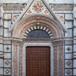 Entrance of Cathedral of Siena, Tuscany, Italy — Foto de Stock