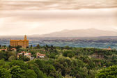 Landscape around Volterra, Tuscany, Italy — Stock Photo