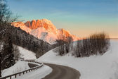 Sunrise in Germany Alps, Berchtesgaden, Bavaria, Germany — Stock Photo