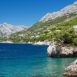 Croatian beach at a sunny day, Brela, Croatia — Stock Photo #31414181