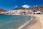 Village in Andalusia at seaside, Cabo de Gata, Spain — Stock Photo